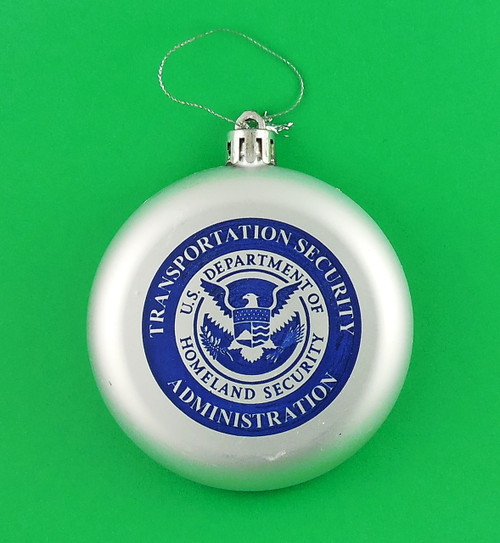 Transportation Security Administration Christmas Tree Ornament
