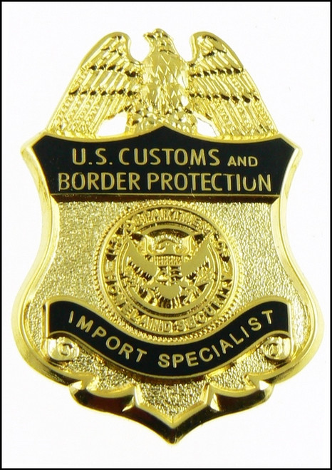 Customs and Border Protection Import Specialist Mini Badge Lapel Pins