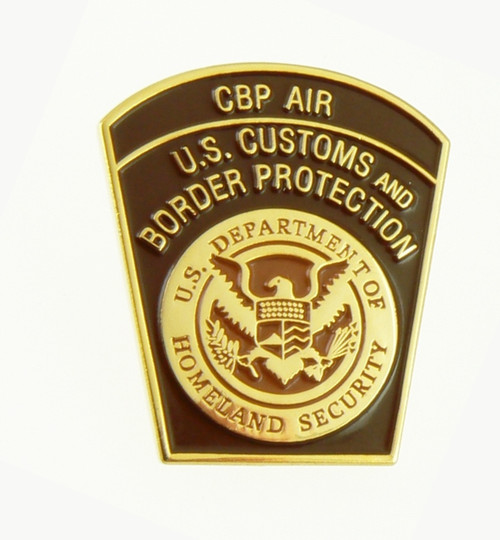 Office of Air and Marine Air Interdiction Mini Patch Lapel Pin