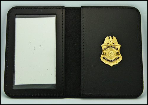 Legacy US Border Patrol Agent Mini Badge ID Card Holder Case