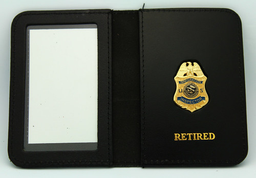 Immigration & Naturalization Service Inspector Retired Mini Badge ID Wallet