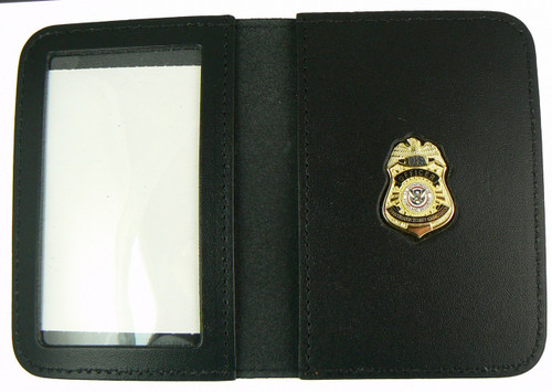 Transportation Security Administration Officer Mini Badge ID Wallet