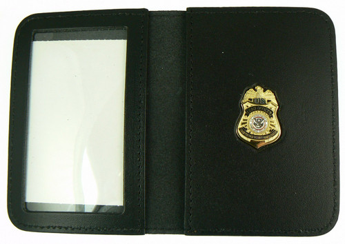 Transportation Security Administration Lead Officer Mini Badge ID Wallet