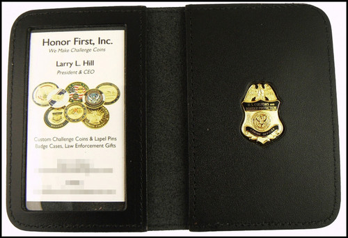 Customs and Border Protection Canine Officer Mini Badge ID Card Holder