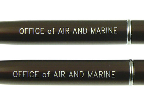 Garland CBP Office of Air and Marine Pen and Pencil Set - Engraving