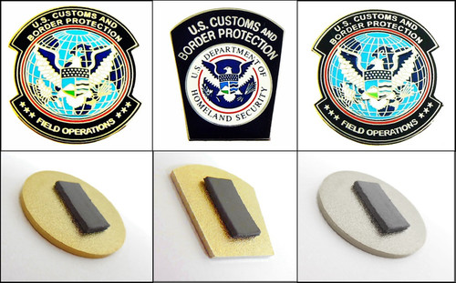 Customs and Border Protection Patches Magnets