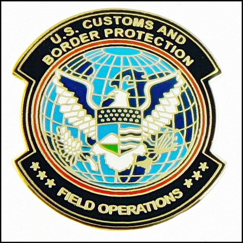 Customs and Border Protection Office of Field Operations Mini Patch Magnet