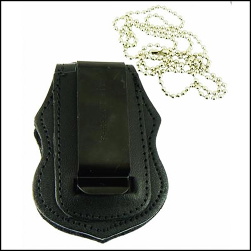 Air and Marine Operations Badge Shaped Badge Holder clip and chain
