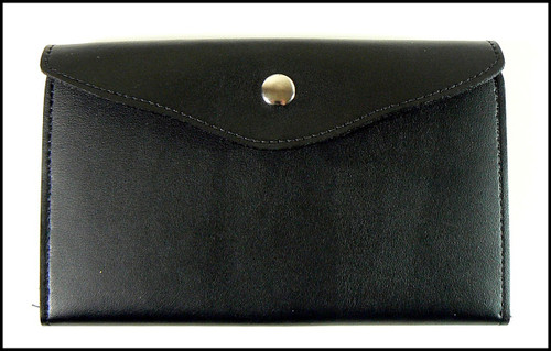 US Border Patrol Women's Badge and ID Wallet - Closed View