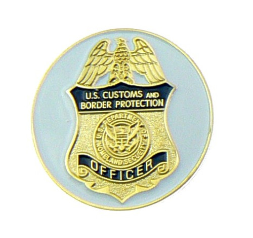 Customs and Border Protection Office Mini Badge Golf Ball Marker