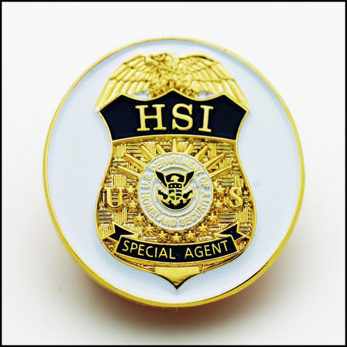 ICE Homeland Security Investigations Golf Ball Marker