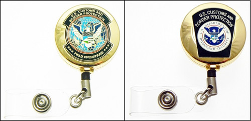 Customs and Border Protection CBP Mini Patch ID Reels