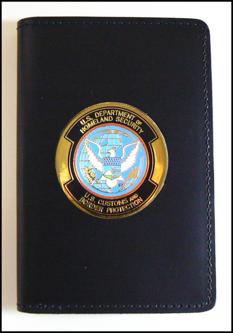 Customs and Border Protection Medallion Badge and Credential Case