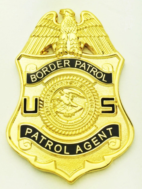 Legacy U.S. Border Patrol Mini Badge Lapel Pins