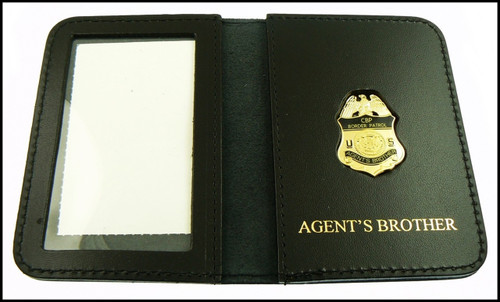 US Border Patrol Agent's Brother Mini Badge ID Card Holder Case