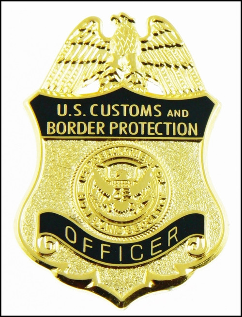 Customs and Border Protection Officer Mini Badge Lapel Pin