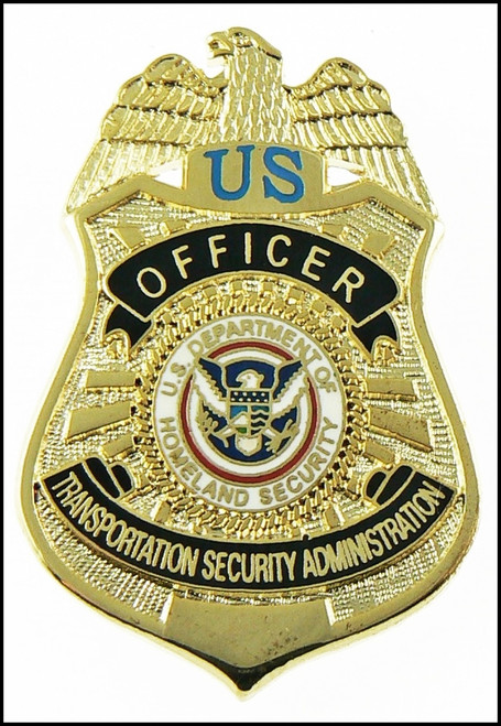 Transportation Security Administration Officer Mini Badge Lapel Pin