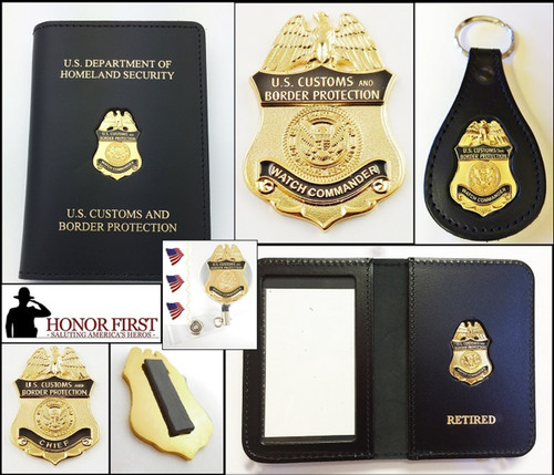 Customs and Border Protection Watch Commander Mini Badge Merchandise