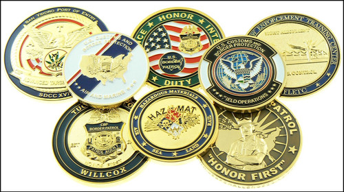 Customs and Border Protection Challenge Coins
