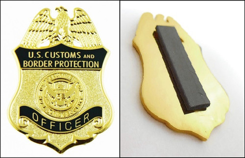 "Customs and Border Protection 1.25"" Officer Mini Badge Magnet"