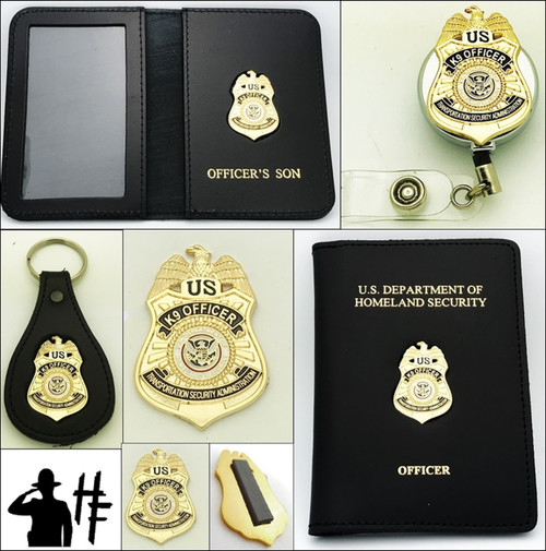 Transportation Security Administration K-9 Officer Merchandise