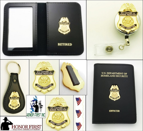CBP Port Director Mini Badge Combined Merchandise