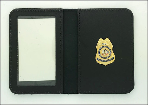 Bureau of Indian Affairs Police Officer Mini Badge ID Case