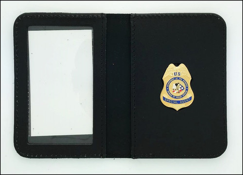 Bureau of Indian Affairs Special Agent Mini Badge ID Case