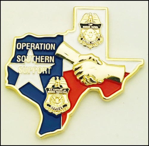 CBP Operation Southern Support - Back Side