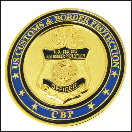 CBP San Ysidro Advanced Targeting Unit Challenge Coin Back