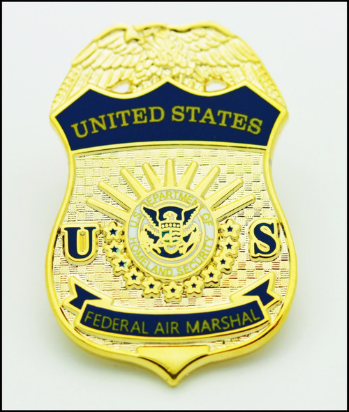 Federal Air Marshal Mini Badge Lapel Pin