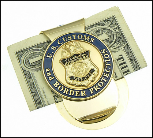 Customs and Border Protection Challenge Coin Money Clip