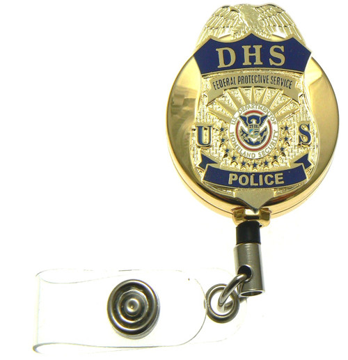 """DHS Federal Protective Service Police Badge 1.5"""""""