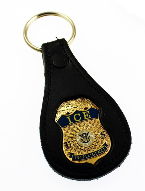 Immigration & Customs Enforcement Mini Badge Key Rings