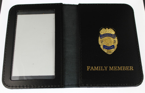 Citizenship & Immigration Services Officer Mini Badge / Family Member ID Wallet