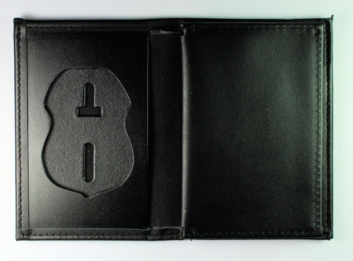 Immigration and Customs Enforcement Leather Badge and Credential Wallet