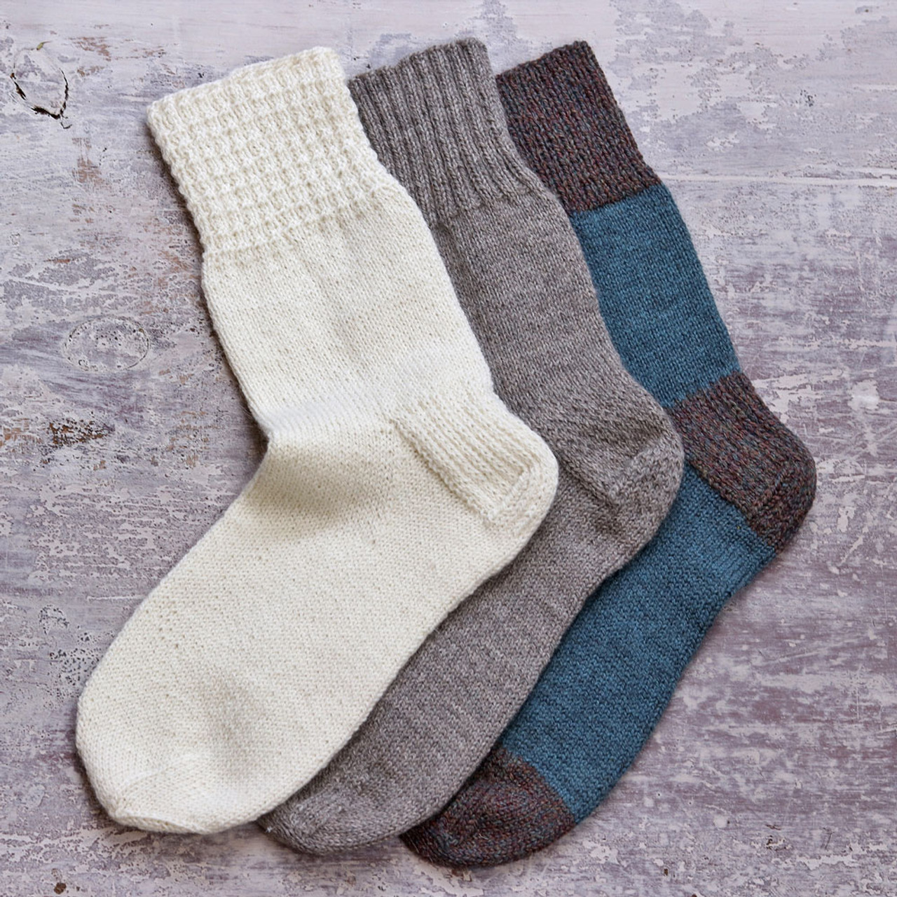 One Sock Pattern by Kate Atherley (pattern only)