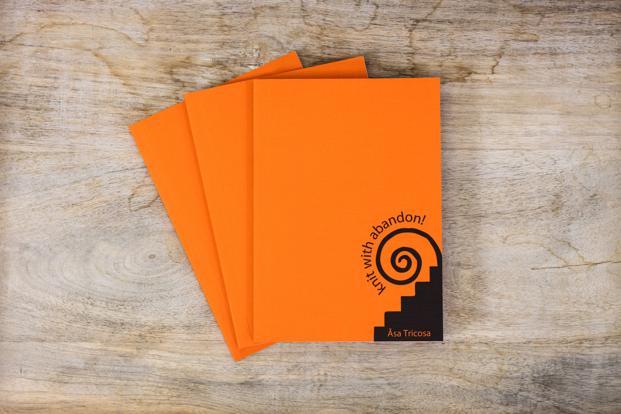 Knit With Abandon  - A6 Notebook - 3 pack