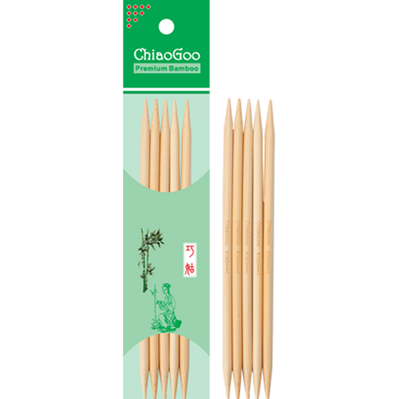 ChiaoGoo Double Point Bamboo