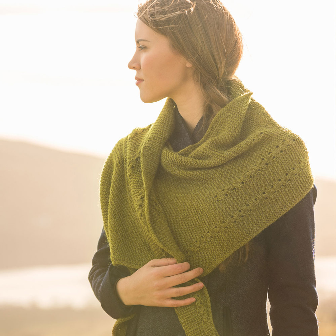 Bassenfell Shawl (with Free Pattern)