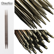 "ChiaoGoo Interchangable - LACE Stainless Steel Tips (5"")"