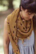 Hipster Shawl or Hipster Cowl - Your Choice!  (Pattern included)