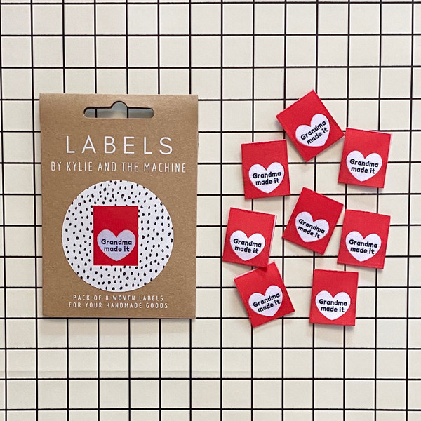 GRANDMA MADE IT - Woven Labels by KATM