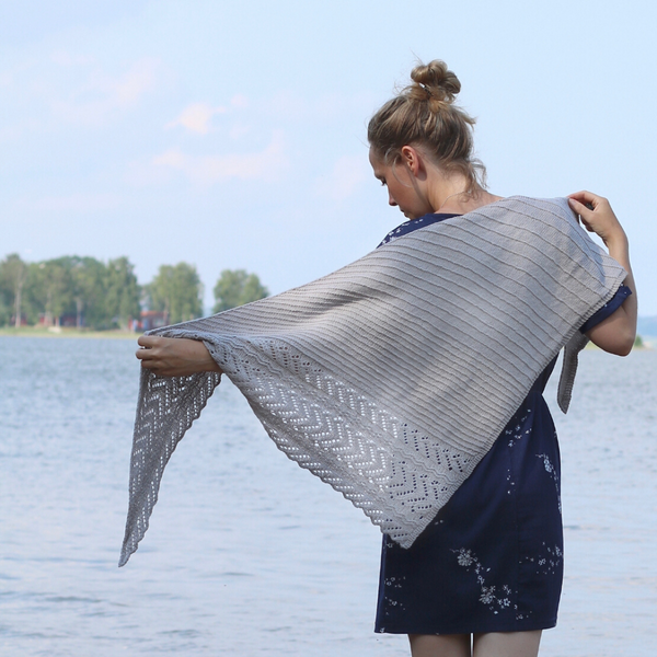 Delightful Shawl Kit (with Pattern)