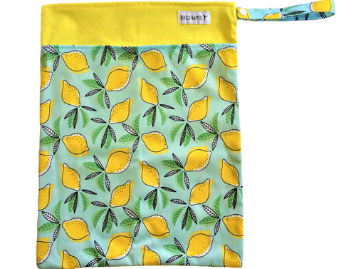 Revilo's Double Pocket Lemons Wet Bag