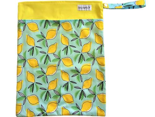 Revilo's Double Pocket Lemons Wet Bag