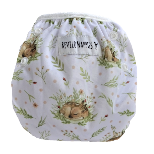 "Revilo's Reusable Swim Nappy ""Sleeping Deer"""