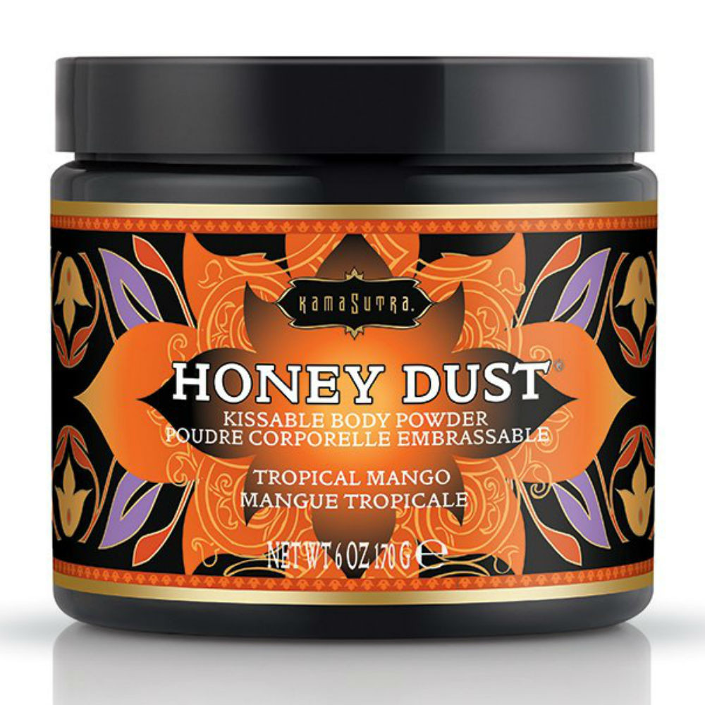 Kamasutra Honey Dust Body Powder Tropical Mango 170g