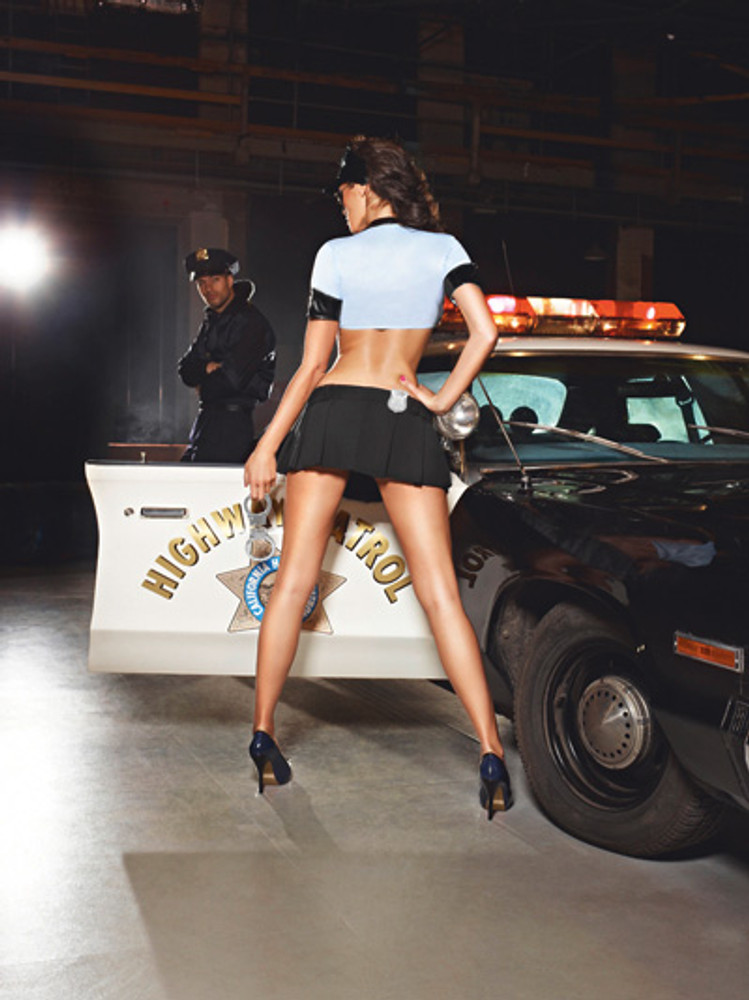 See Thru Police Uniform