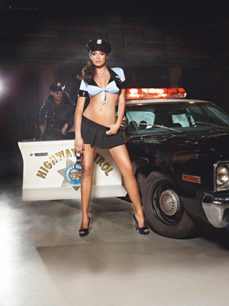 Revealing Police Uniform
